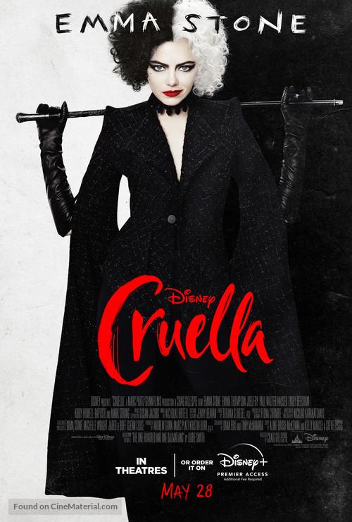 Cruella - Canadian Movie Poster