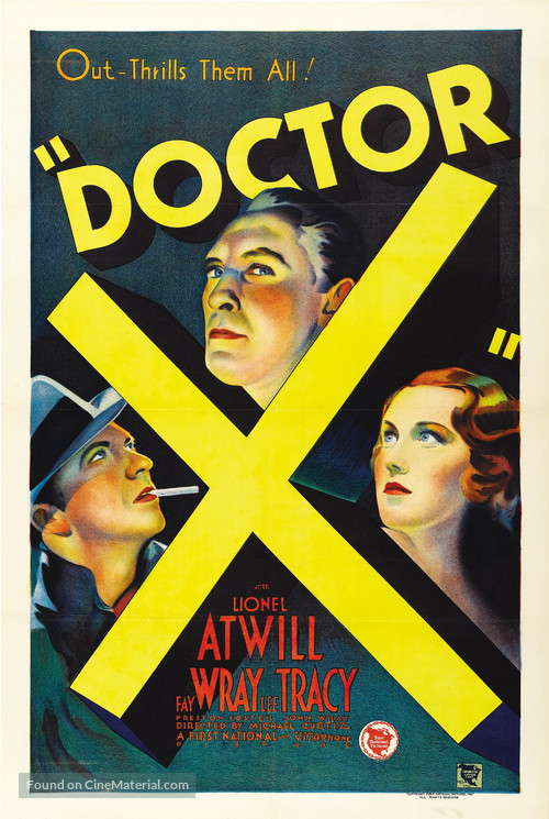 Doctor X - Movie Poster