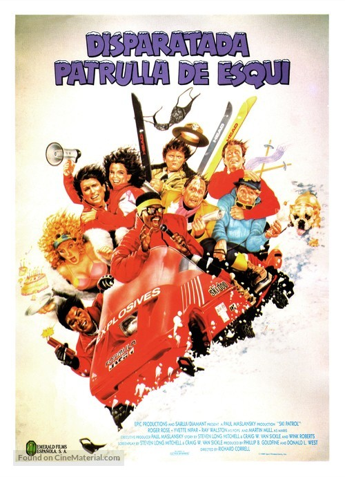 Ski Patrol - Spanish Movie Poster