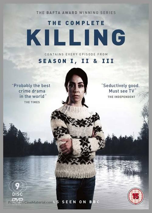 """""""Forbrydelsen"""" - British DVD movie cover"""