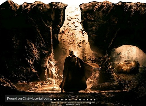 Batman Begins - Movie Poster