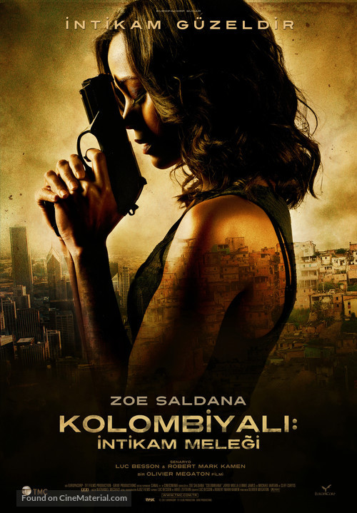 Colombiana - Turkish Movie Poster