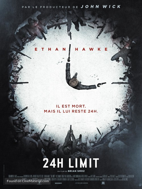 24 Hours to Live - French Movie Poster