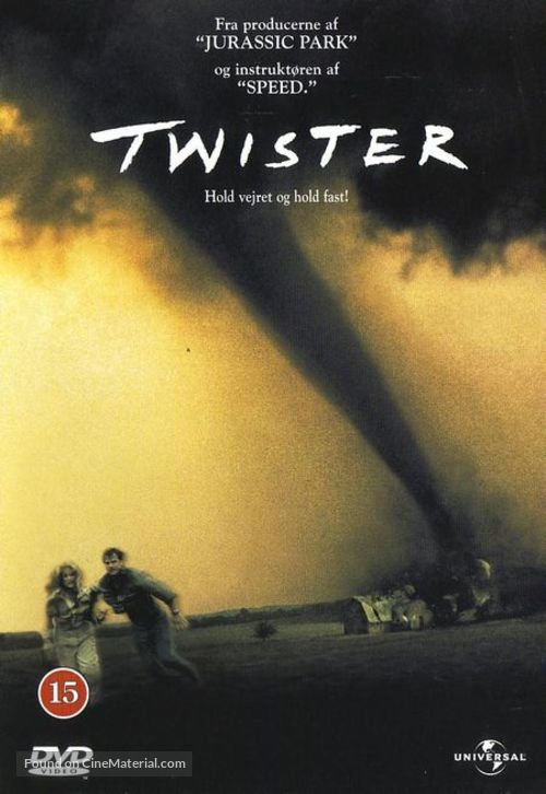 Twister - Danish Movie Cover