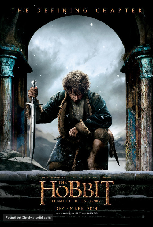 The Hobbit: The Battle of the Five Armies - Movie Poster