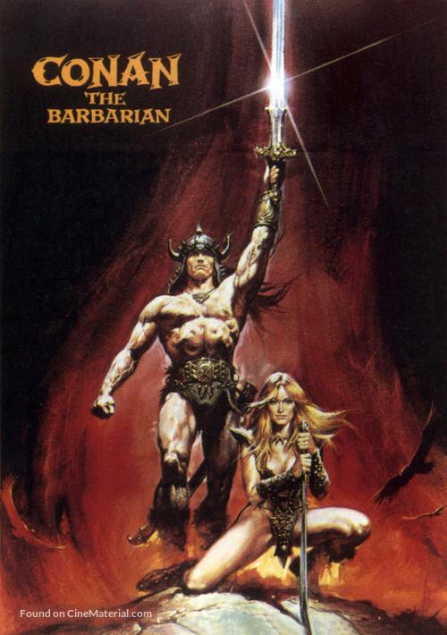 Conan The Barbarian - DVD movie cover