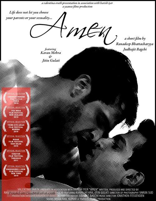 Amen - British Movie Poster