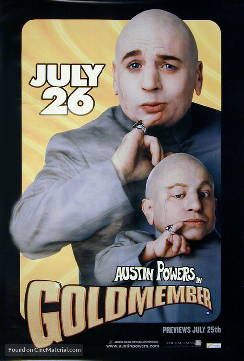 Austin Powers in Goldmember - British Movie Poster