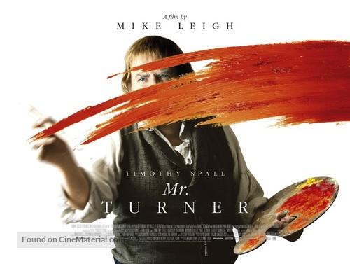 Mr. Turner - British Movie Poster
