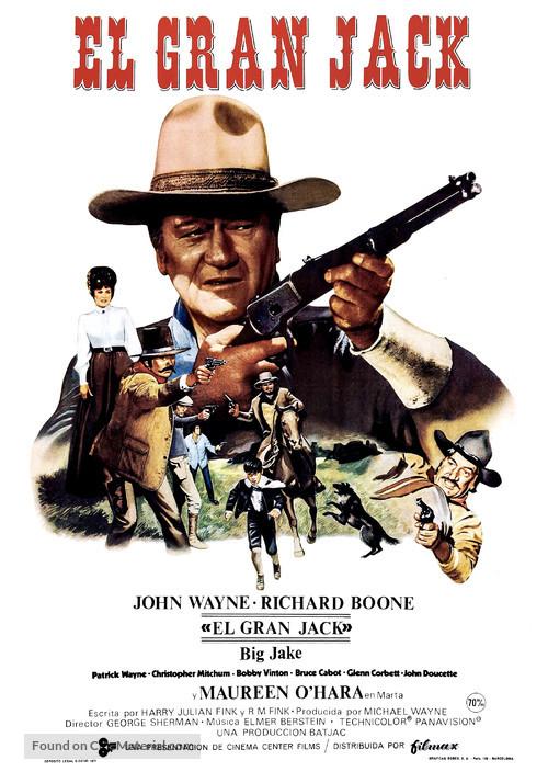 Big Jake - Spanish Movie Poster