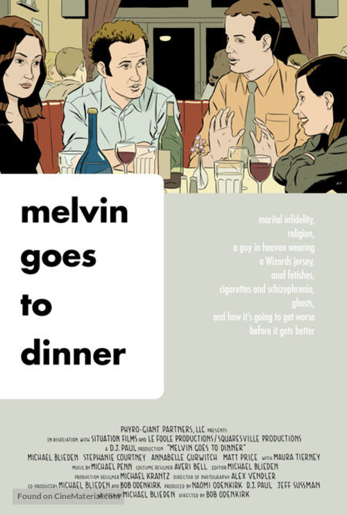 Melvin Goes to Dinner - poster