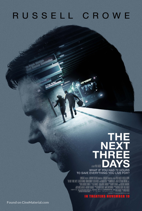 The Next Three Days - Movie Poster