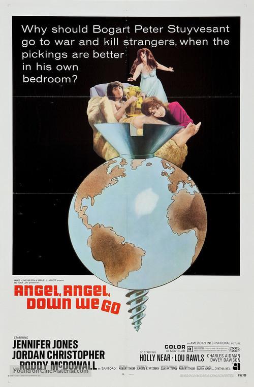 Angel, Angel, Down We Go - Movie Poster