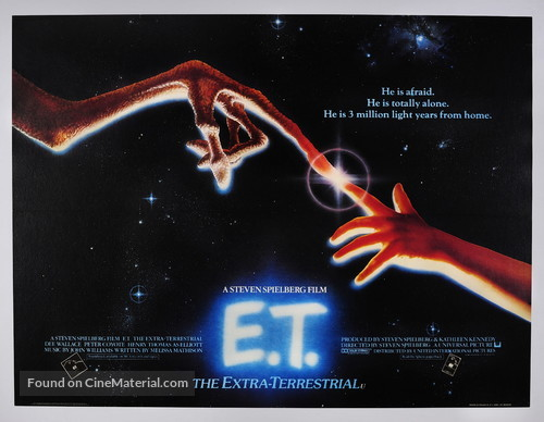 E.T.: The Extra-Terrestrial - British Movie Poster