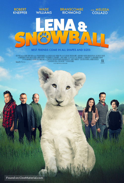 Lena and Snowball - Movie Poster