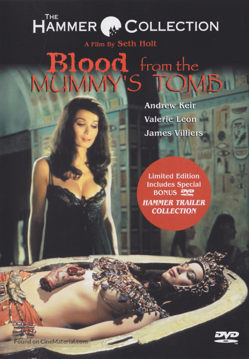 Blood from the Mummy's Tomb - DVD movie cover