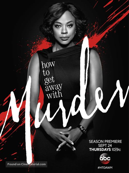 """How to Get Away with Murder"" - Movie Poster"