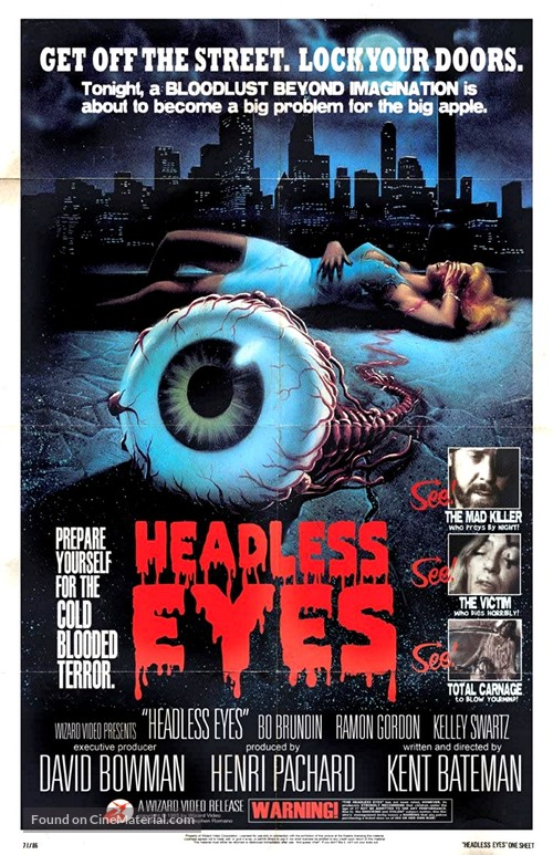 The Headless Eyes - Movie Poster
