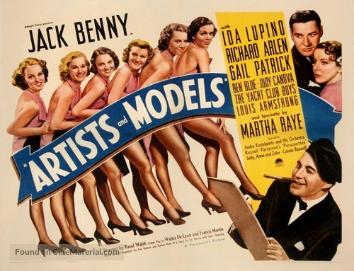 Artists & Models - Movie Poster