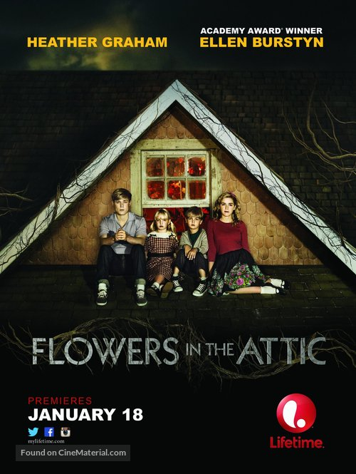 Flowers in the Attic - Movie Poster
