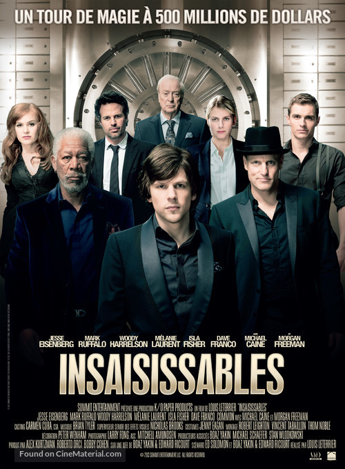 Now You See Me - French Movie Poster