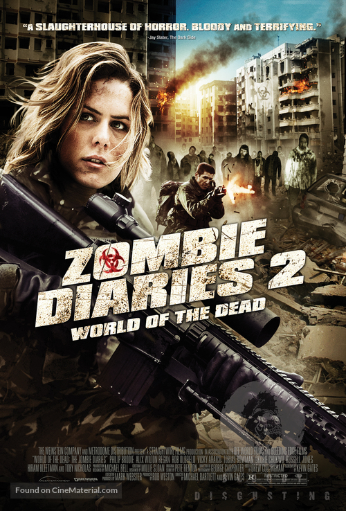 World of the Dead: The Zombie Diaries - Movie Poster