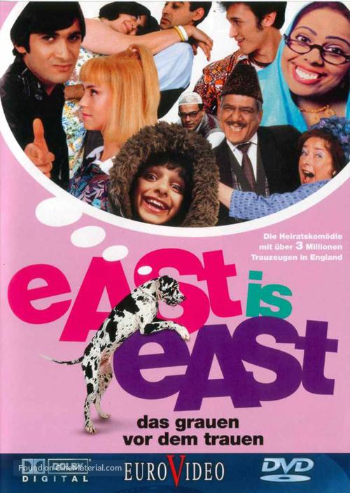 East Is East - German Movie Cover