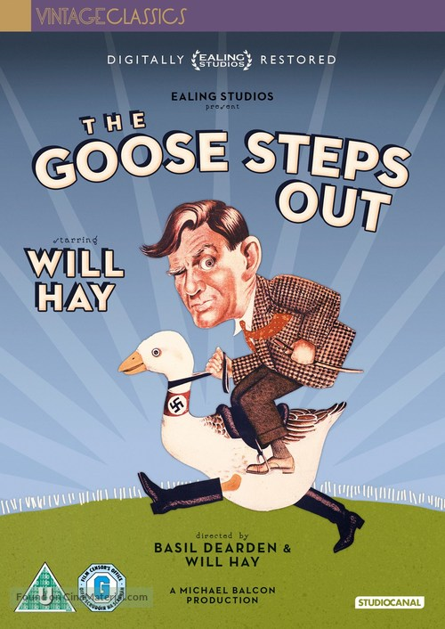 The Goose Steps Out - Australian DVD movie cover
