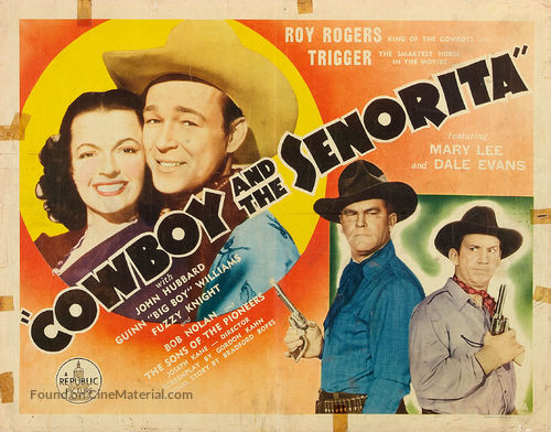 Cowboy and the Senorita - Movie Poster