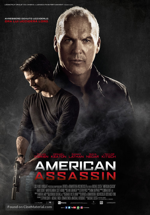 American assassin italian movie poster for American cuisine film stream