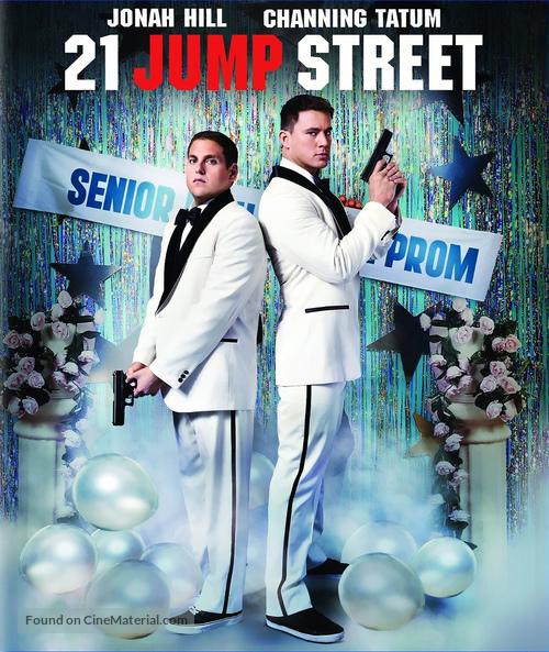 21 Jump Street 2012 Blu Ray Movie Cover