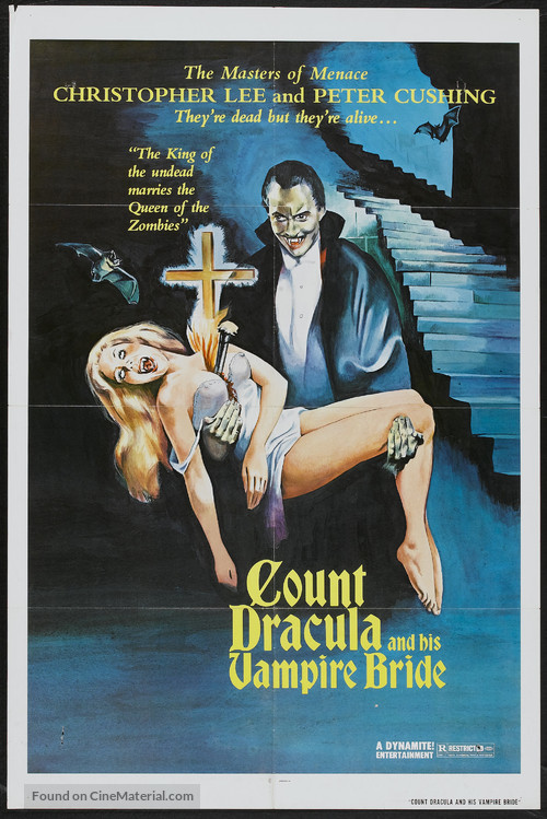 The Satanic Rites of Dracula - Movie Poster