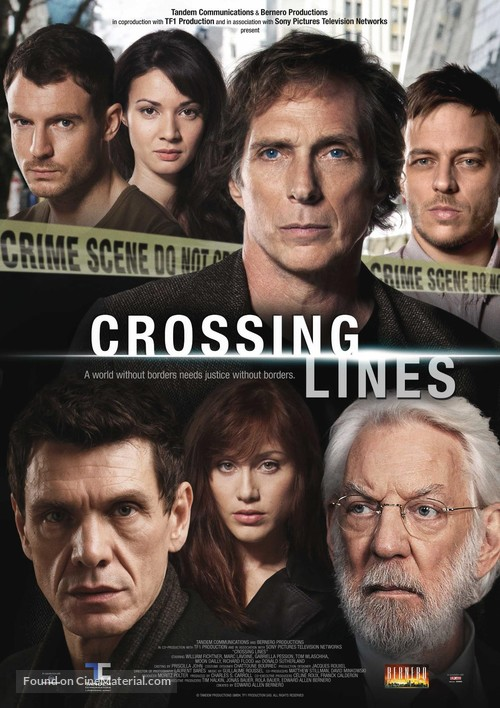 """""""Crossing Lines"""" - French Movie Poster"""