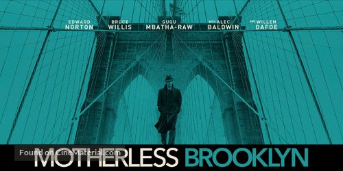 Motherless Brooklyn - Movie Poster