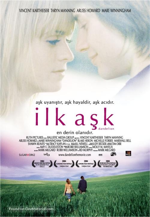 Dandelion - Turkish poster