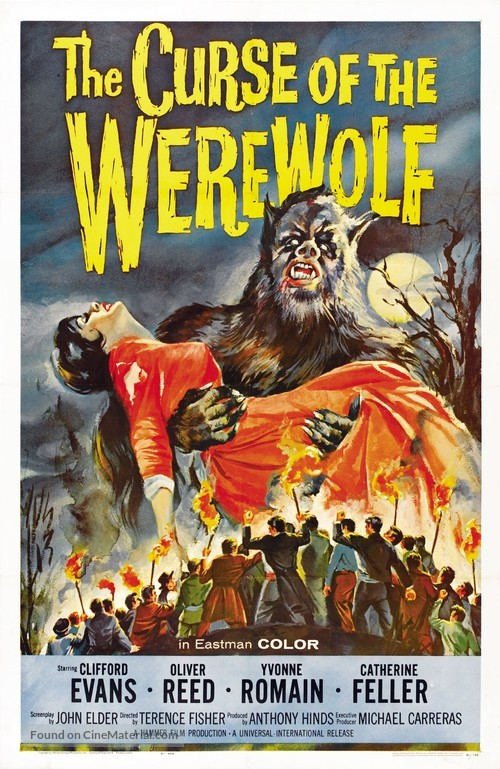 The Curse of the Werewolf - Movie Poster