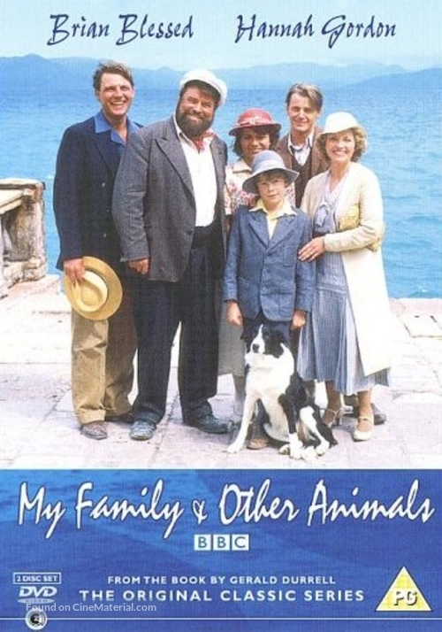 """""""My Family and Other Animals"""" - British Movie Poster"""