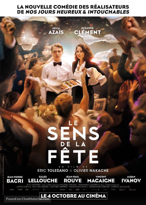 Le Sens De La Fete French Movie Poster