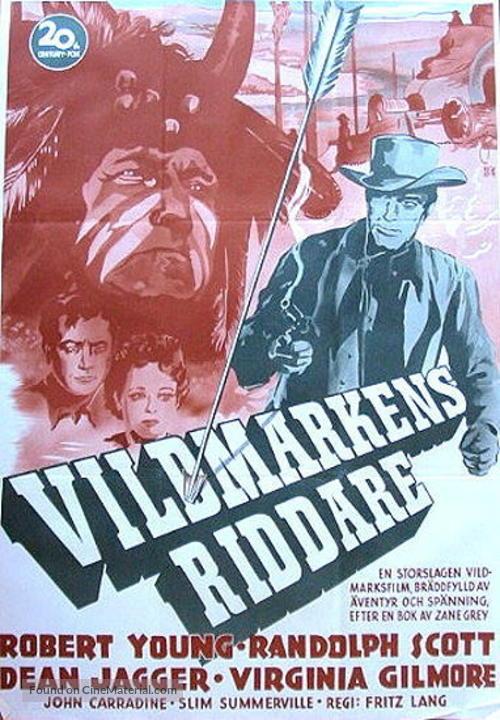 Western Union - Swedish Movie Poster