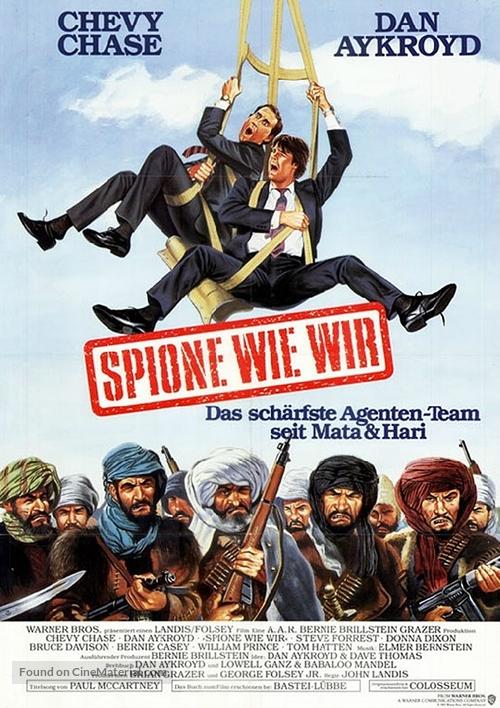 Spies Like Us - German Movie Poster
