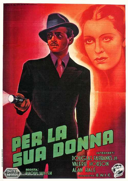 Jump for Glory - Italian Movie Poster