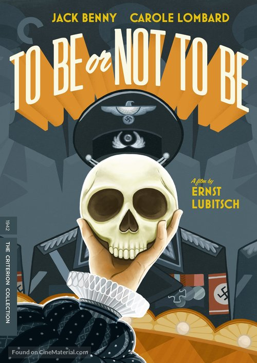 To Be or Not to Be - DVD movie cover