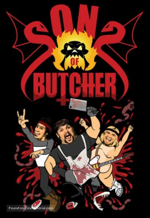"""""""Sons of Butcher"""" - Canadian Movie Cover"""