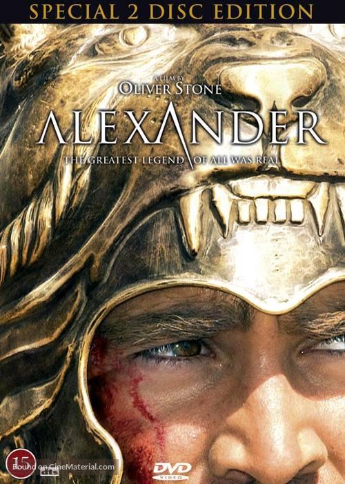 Alexander - Danish DVD movie cover