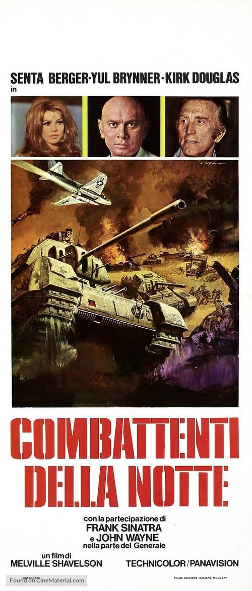 Cast a Giant Shadow - Italian Movie Poster