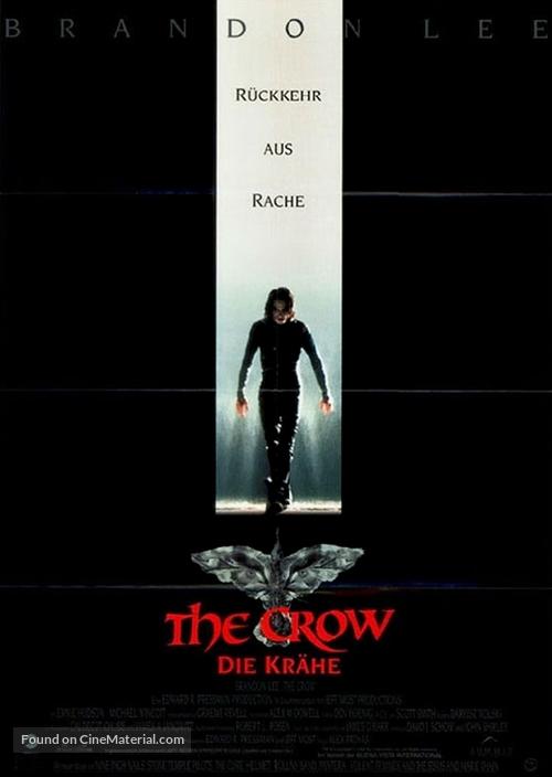 The Crow - German Movie Poster