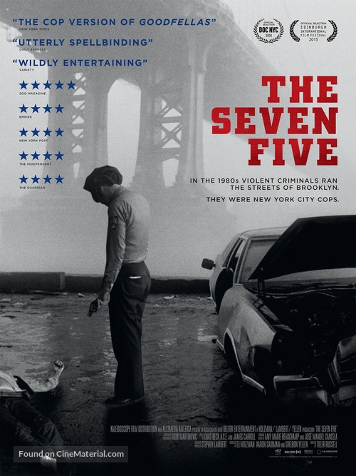 The Seven Five - British Movie Poster