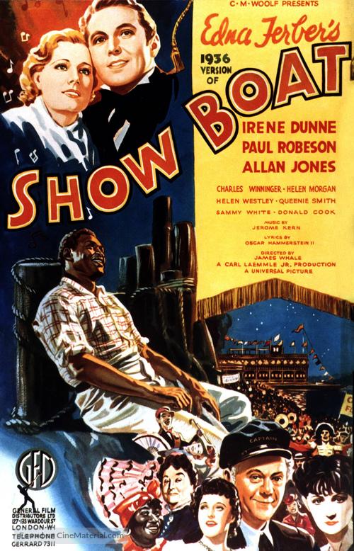 Show Boat - British Movie Poster