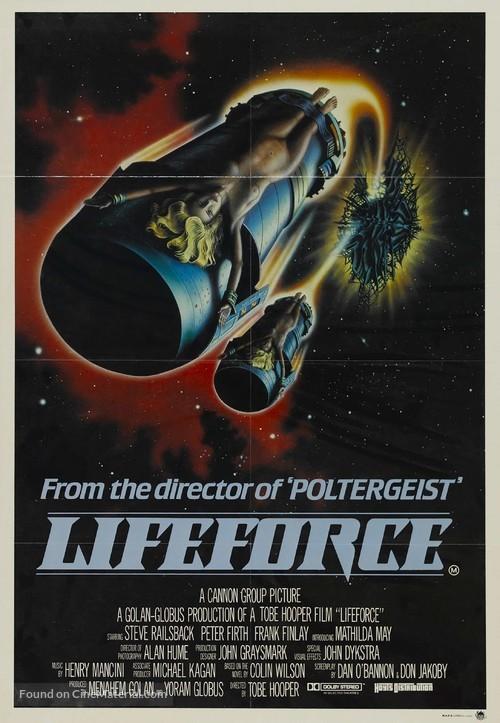Lifeforce - Australian Movie Poster