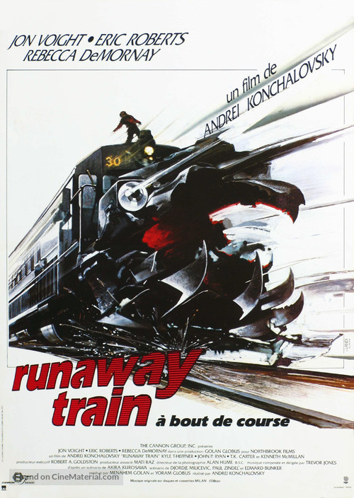 Runaway Train - French Movie Poster